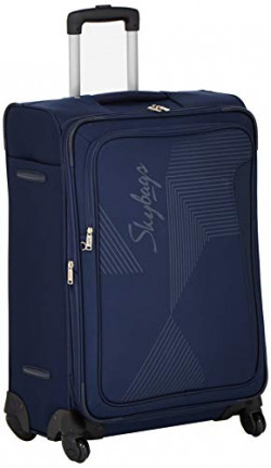 Skybags Polyester Royal Blue Luggage Sets (STFHMDERBL)