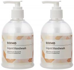 Amazon Brand - Solimo Handwash Liquid, Sea Minerals - 250 ml (Pack of 2)