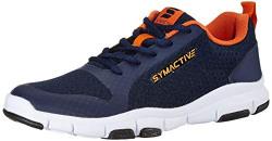 Amazon Brand - Symactive Men's Navy Running Shoes-10 UK (SYM-SS-038A)