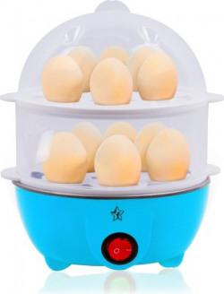 Flipkart SmartBuy DOUBLE LAYER EGG BOILER Egg Cooker(Blue, 14 Eggs)