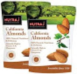 Nutraj California Almonds 250 G (Pack Of 2)