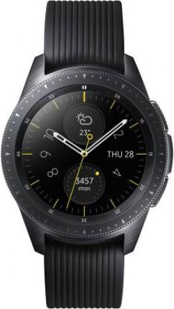 Samsung Galaxy Watch 42 mm Smartwatch  (Black Strap, Regular)
