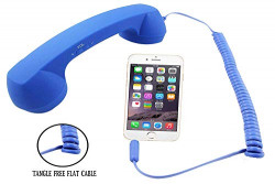 LionBolt Anti-Radiation Retro Style Handset Coco Phone with 3.5mm Jack HD Speaker and Mic for All Smartphones