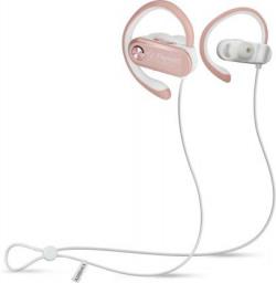 Flipkart SmartBuy BWA18AA002 Bluetooth Headset  (Rose Gold, Wireless in the ear)