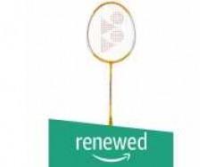 (Renewed) Yonex CER_ref BRYLWG4000-GR303 Aluminum Badminton Racquet (Yellow) Rs. 230 - Amazon