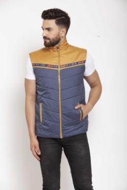 Ben Martin Sleeveless Colorblock Men Jacket