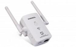 Digisol DG-WR3001NE 300 Mbps Range Extender(White, Dual Band)