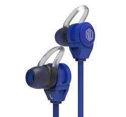 Nu Republic Jaxx M Wired Earphone with Ultra Bass (Electric Blue)