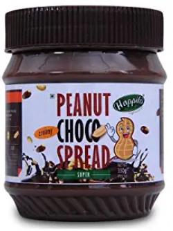 Happilo Super Creamy Chocolate Peanut Butter 350g (High Protein, Non-GMO, Gluten Free, Vegan) Bottle, 350 g 30% off