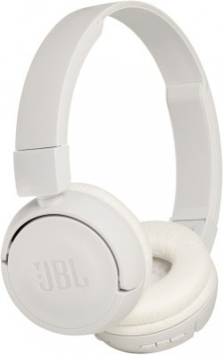 JBL T450BT Extra Bass Bluetooth Headset(White, Wireless over the head)