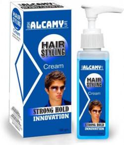 Alcamy Strong Hold Hair Style Cream Hair Cream  (100 g)