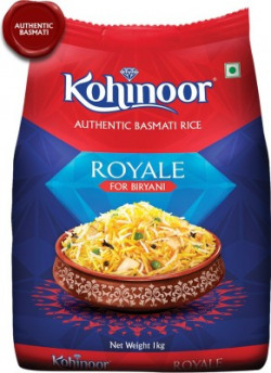 Kohinoor Royale Authentic Biryani Basmati Rice (Long Grain)(1 kg)