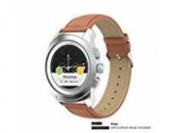 Noise NoiseFit Fusion Hybrid Smart Watch with Leather Strap (Vintage Brown) Rs.6999 @ Amazon