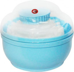 Guru Kripa Baby Products Unbreakable Total Hygiene Cylindrical Powder Container  (Blue)