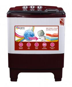 Koryo 6.5 kg Semi-Automatic Top Loading Washing Machine (KWM6821SA)