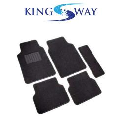 Kingsway KKMCRPMBK00032 Carpet Mats for Hyundai Santro Xing (Black)