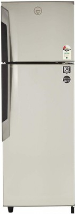 Godrej 330 L Frost Free Double Door 2 Star (2019) Refrigerator(Sleek Steel, RF GF 3302 PTH SLK STL)