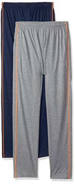 Fort Collins Men's Relaxed Fit Casual Trousers (Pack of 2) (FC11160_Indigo/Anthra_26W x 29L)