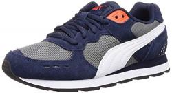 Puma Unisex Adult Vista Peacoat White-Cherry Tomato Blue Sneakers-9 UK (43 EU) (10 US) (36936506)