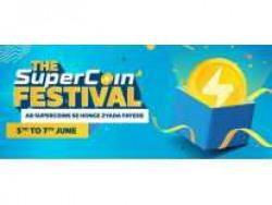 [5th to 7th June] Flipkart The Super Coin Festival