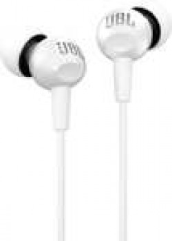 JBL C150SI in-Ear Headphones with Mic (White
