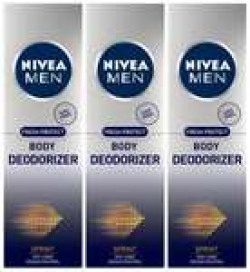 35% off On Nivea Men Body Deodorizer, Sprint, 120 ml (Pack of 3)