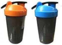 Buy 1 Get 1 Free 400ml Protein Shaker / Sipper / Gym Bottle / Water Bottle / (Assorted Colors)