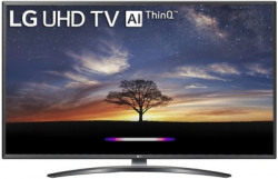 LG 109.22cm (43 inch) Ultra HD (4K) LED Smart TV(43UM7600PTA)