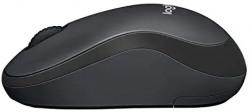 (Renewed) Logitech M221 Silent Wireless Mouse- Charcoal