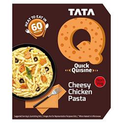 TATA Q Cheesy Chicken Pasta, 305g
