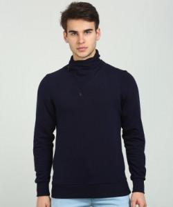 Highlander Full Sleeve Solid Men Sweatshirt
