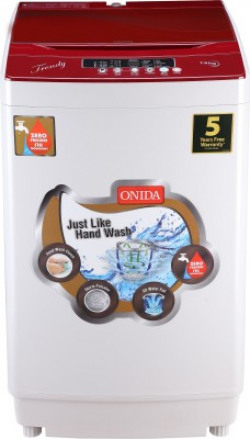 Onida 7.5 kg Fully Automatic Top Load Red(TRENDY 75)