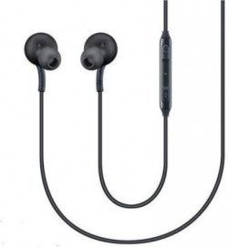 PBT Best Quality Wired Headset(Black, Wireless in the ear)