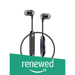 (Renewed) Sennheiser CX 6.0BT 507447 in Ear Wireless Earphones (Black)