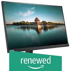 (Renewed) Lenovo ThinkVision P-Series P24q-10 23.8-inch IPS WQHD Monitor (Black)