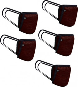 Fort Collins 133(Maroon, free size, Pack of 5)