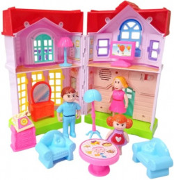 Miss & Chief My Dream Family Home Villa with Lights and Sound Toys for Kids