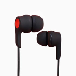 SEF Powerful Wired Headset with Rubber Technology Inspired Earphones with Mic Deep Bass Stereo for All Smartphone