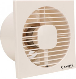 Candes AXIAL 6 inch 100% Copper Winding 150 mm 7 Blade Exhaust Fan(Ivory, Pack of 1)