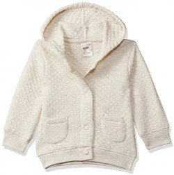 Max Baby Girl's Jacket (W19NB61GX_Beige_9-12 Months)