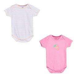 Max Baby Girl's Regular fit Bodysuit (P19ANB02_Multi_6 9 Months)