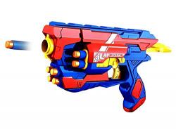 Zitto Lap Blaster Gun Toy, Safe and Long Range, 10 Bullets
