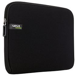 Gizga Essentials Laptop Bag Sleeve Case Cover Pouch for 15.6-Inch Laptop for Men & Women Neoprene (Black)