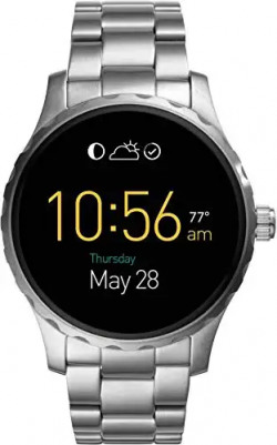Fossil Marshall Silver Smartwatch (Silver Strap Regular) 53% off