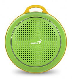 (Renewed) Genius SP-906BT Bluetooth Speakers with Mic (Green)