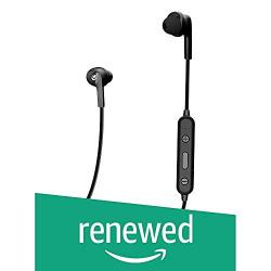 (Renewed) CLEF N100BTBLK in Ear Wireless Earphones with MIC- Black