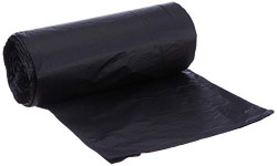 50% off: Conta Kleen 0807 CA 04 Garbage Bag, Black (30 inch x 37 inch) (Roll of 25 Pieces)