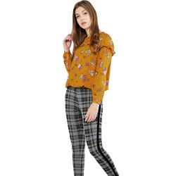 Max Women's Regular Fit Top (W18WTOP04_Mustard L)
