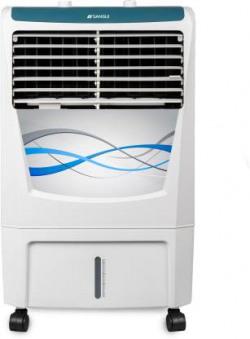 Sansui 22 L Room/Personal Air Cooler  (White, Blue, Rhyme 22)