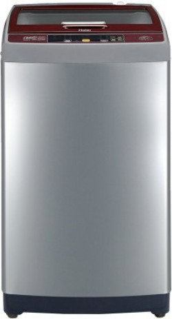 Haier 7.5 kg Fully Automatic Top Load Silver(HWM75-707NZP)